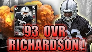CAN TRENT RICHARDSON FIND THE HOLE?! (93 TRENT RICHARDSON GAMEPLAY) - MADDEN NFL 17 ULTIMATE TEAM