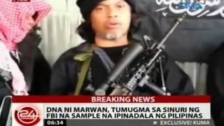 getlinkyoutube.com-24 Oras: Kaliwang hintuturo ng sinasabing bangkay ni Marwan, kitang putol sa larawan