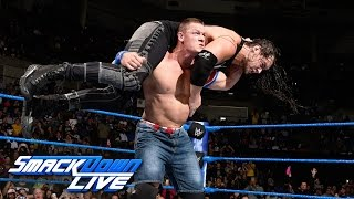 getlinkyoutube.com-John Cena vs. Baron Corbin: SmackDown LIVE, Jan. 10, 2017