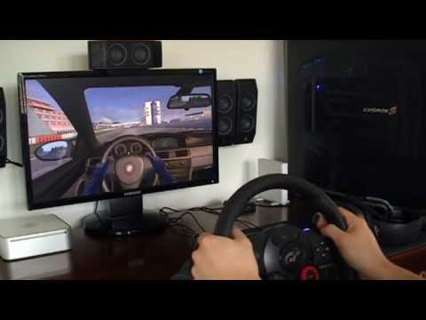 Logitech Driving Force GT: Gameplay -ThCWlq4WJt4