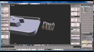 getlinkyoutube.com-How To Make a Custom iPhone Case on Blender