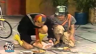 getlinkyoutube.com-Quico y la Chilindrina se ponen los lentes Deal With It ante el Chavo del 8!