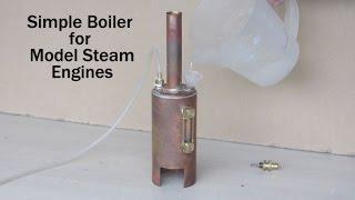 getlinkyoutube.com-Make a Simple Boiler for Model Steam Engines Part 1