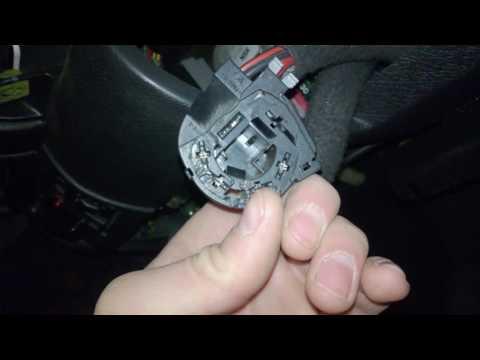 Opel Corsa B Распиновка колодки контактной группы замка зажигания