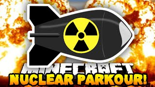 getlinkyoutube.com-Minecraft NUCLEAR PARKOUR! (Funny Parkour Moments!) - w/ PrestonPlayz