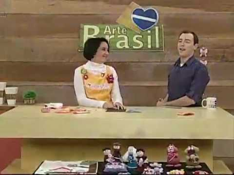 ARTE BRASIL - PRISCILA CUNHA - PORTA NÍQUEL FLOR (20/07/2011)