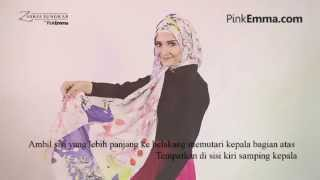 Zaskia Sungkar Tutorial Hijab Segi Empat : Gaya Casual Ke Kantor