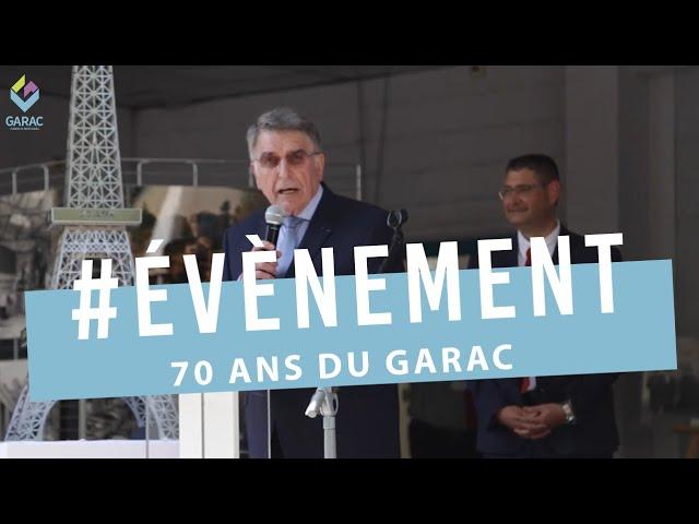1200 invités fêtent les 70 ans du GARAC