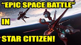 "getlinkyoutube.com-Star Citizen | EPIC SPACE BATTLES | ""Multiplayer Space battle"""