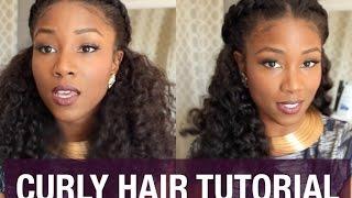 getlinkyoutube.com-CURLY HAIR SOLUTIONS TUTORIAL | FALL LOOK