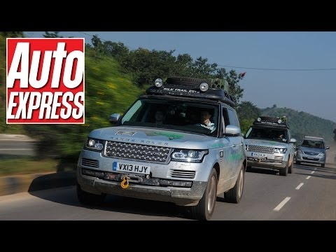 Range Rover Hybrid takes on India's craziest roads