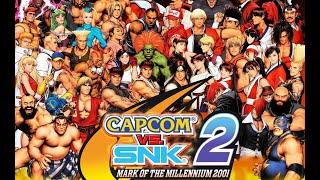 getlinkyoutube.com-Capcom Vs. SNK 2 Mark Of The Millennium 2001 (PS2)