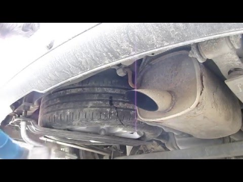 VW Caddy Снятие и установка запасного колеса