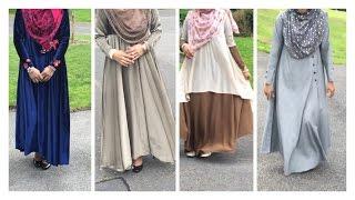 getlinkyoutube.com-Abaya LookBook| Lets Make Abayas With Me!! |Bobiz Kollection