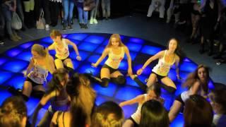 getlinkyoutube.com-Отчетный концерт TRINITY DANCE 3.04.201 клуб Ленинград. Группа Лены Прель.