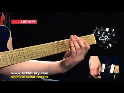 Get The Funk Out - Extreme - Guitar Lesson With Andy James Licklibrary