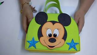 getlinkyoutube.com-DIY Maleta Mickey Mouse en Foami, Goma Eva, Microporoso (2da Parte) Easy Crafts