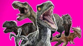 ♪ JURASSIC WORLD EVOLUTION SONG - Music Video Parody