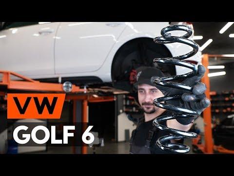Как заменить задние пружины подвески на VW GOLF 6 (5K1) [ВИДЕОУРОК AUTODOC]