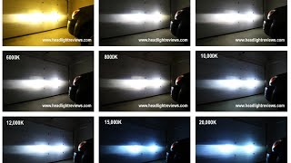 getlinkyoutube.com-HID Kit Color Comparison Video Footage 3000K vs 6000K vs 8000K