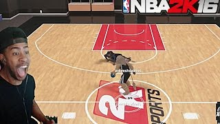 getlinkyoutube.com-NBA 2K16| EXPOSING TRASH TALKER 1v1 MYCOURT!! +  Funny Moments with fans @ MyPark pt. 3