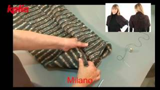 getlinkyoutube.com-Milano (Shrug joining strips/Torera uniendo tiras)