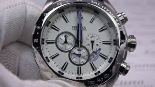 getlinkyoutube.com-FESTINA Chronograph XL Analog F16488/1