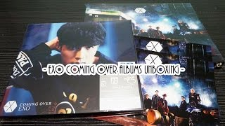 getlinkyoutube.com-[UNBOXING] EXO Coming Over Group Album + Yixing Cover