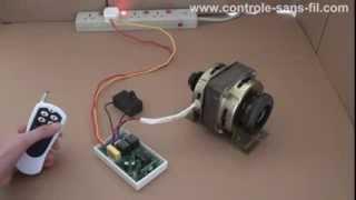 getlinkyoutube.com-Comment changer la rotation du moteur monophasé électrique 220v avec seul un émetteur radio?