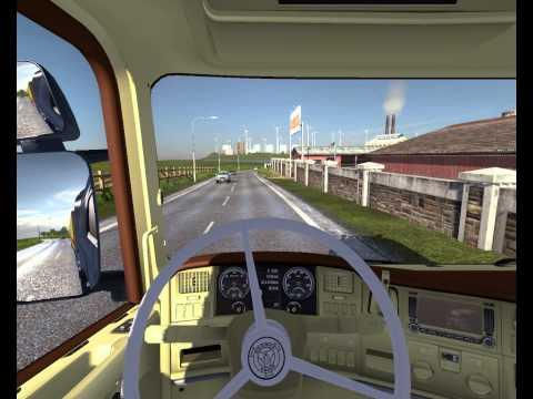 Euro truck simulator 2 Mod Scania Truck Shop,souns engine and interior