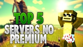 getlinkyoutube.com-TOP 5 MEJORES SERVIDORES NO PREMIUM DE MINECRAFT 1.8