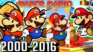 Paper Mario ALL INTROS 2000-2016 (Wii U, 3DS, Gamecube, N64)