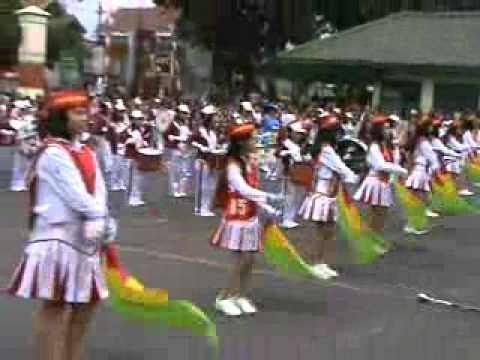 Drum band smp 2 Salatiga