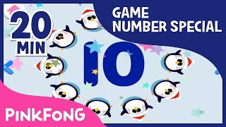 Doo-bi-doo-ba! Let's play with numbers   20+ Super Fun Number Games   Pinkfong Songs for Children