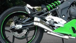 getlinkyoutube.com-Ninja400 POWER BOX マフラー サウンドチェック