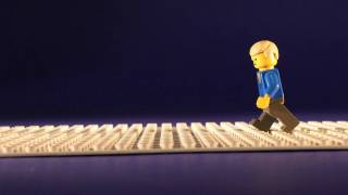 getlinkyoutube.com-How to Animate a LEGO Figure Walking