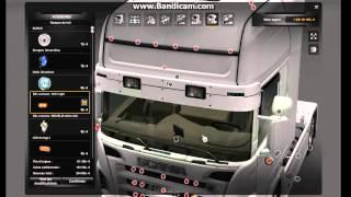 getlinkyoutube.com-Euro Truck Simulator 2 - Customization Scania R500 V8 50K