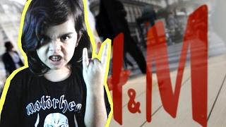 getlinkyoutube.com-Metal-Fans: Übelster Prank gegen Modekette H&M.. 😂