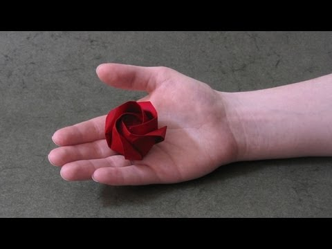 Origami Instructions: Rose of Roses (Jordi Adell)