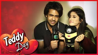 getlinkyoutube.com-Lakhan Gives Poonam A Teddy | Teddy Day | Valentine's Week Special