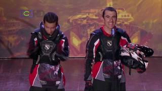 getlinkyoutube.com-Colombia Tiene Talento: Andrés Villa y Sebastián Montoya - Acrobacia en motos