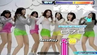 getlinkyoutube.com-StepMania NX2 - Girls' Generation - Gee