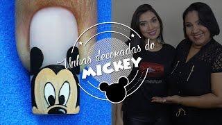 getlinkyoutube.com-Unhas do Mickey | Cola na Villar