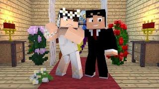 getlinkyoutube.com-Minecraft: O CASAMENTO! (Build Battle)