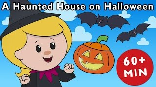 getlinkyoutube.com-A Haunted House on Halloween Night and More | Nursery Rhymes from Mother Goose Club!