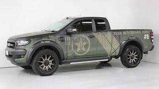 getlinkyoutube.com-2016 Ford Ranger XLT Supercab 4x4 CAMO -Team Hutchinson Ford