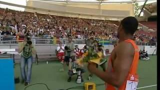 getlinkyoutube.com-200m - Tyson Gay - 19.68 - World Athletics Final Stuttgart 2006
