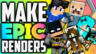 getlinkyoutube.com-How To Make a Minecraft Renders On Android