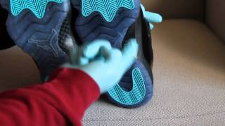 getlinkyoutube.com-Air Jordan 11 Retro Gamma Blue - Legitimate vs Perfect Quality Version Comparison