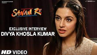 getlinkyoutube.com-SANAM RE Exclusive - Divya Khosla Kumar Interview | T-Series